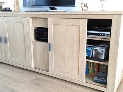 Eiken tv dressoir 170104