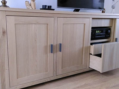 Eiken tv dressoir 170104