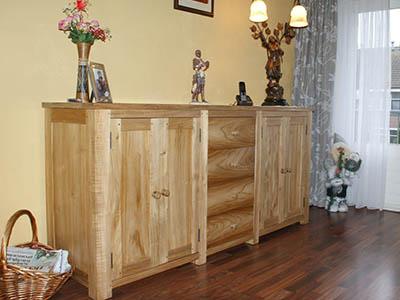 Teak houten dressoir 181304